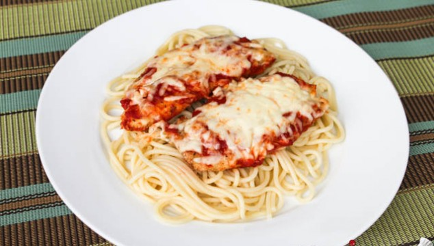Baked Chicken with Mozzarella