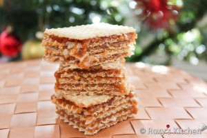 Wafer Sheets with Walnut Cream