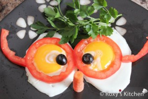 Funny Sunny Side Up Eggs