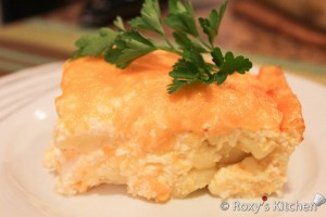 Baked Potatoes with Cheese & Sour Cream / Cartofi Gratinati cu Smantana la Cuptor