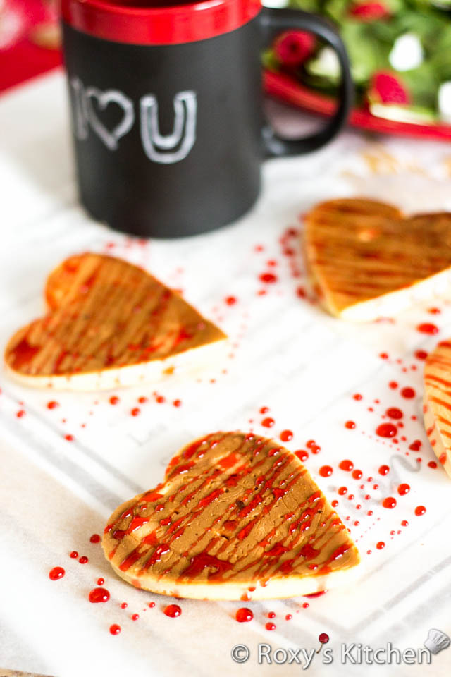 Easy and Creative Ideas for Valentine's Day - Heart-Shaped Pancakes