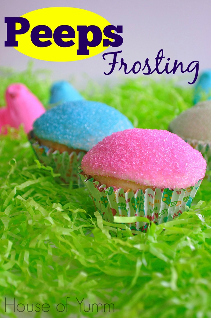30 of the Best Easter Recipes & DIY Ideas - Roxy's Kitchen - Peeps Frosting