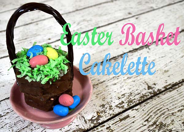 30 of the Best Easter Recipes & DIY Ideas - Roxy's Kitchen - No-Nake Easter Basket Cakelettes