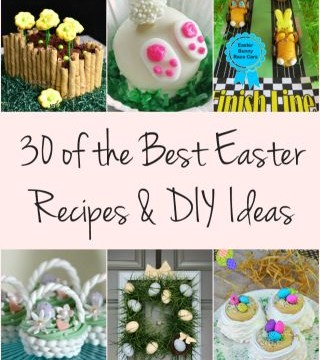 30 of the Best Easter Recipes & DIY Ideas - Roxy's Kitchen #Easter #Recipes #DIY #foodart