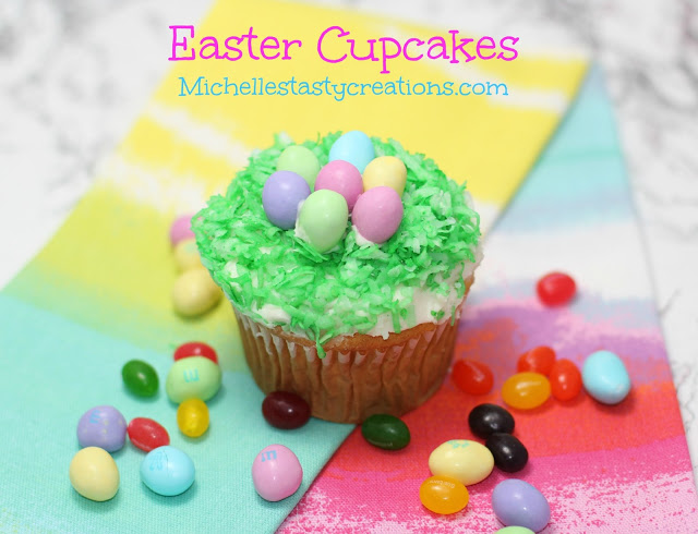 30 of the Best Easter Recipes & DIY Ideas - Roxy's Kitchen - Easter Cupcakes