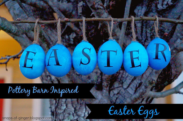 30 of the Best Easter Recipes & DIY Ideas - Roxy's Kitchen - Pottery Barn Inspired Easter Eggs