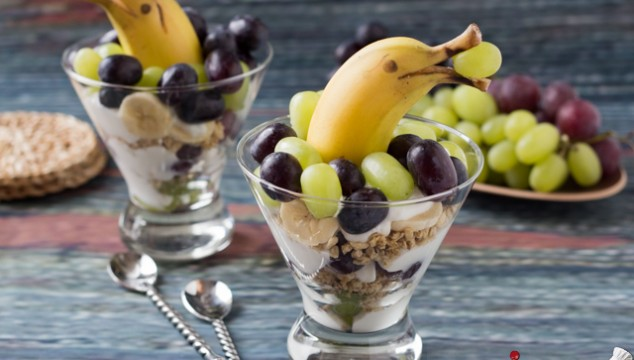 Grape and Banana Dolphin Parfait | Roxy's Kitchen
