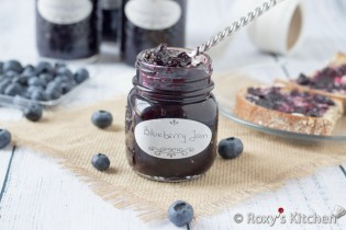 Easy 3-Ingredient Blueberry Jam | Roxy's Kitchen