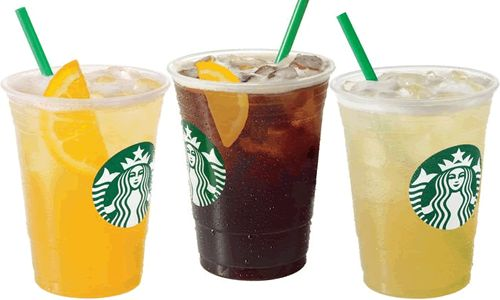 Starbucks Iced Drinks