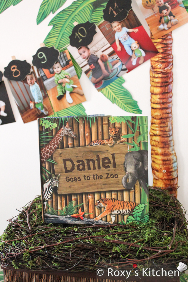 Custom Book as a First Birthday Gift - Daniel Goes to the Zoo!