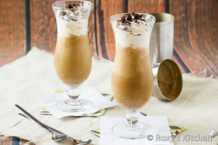 The Best Homemade Café Frappé Recipe – Low-Sugar, Rich & Creamy! | Roxy's Kitchen