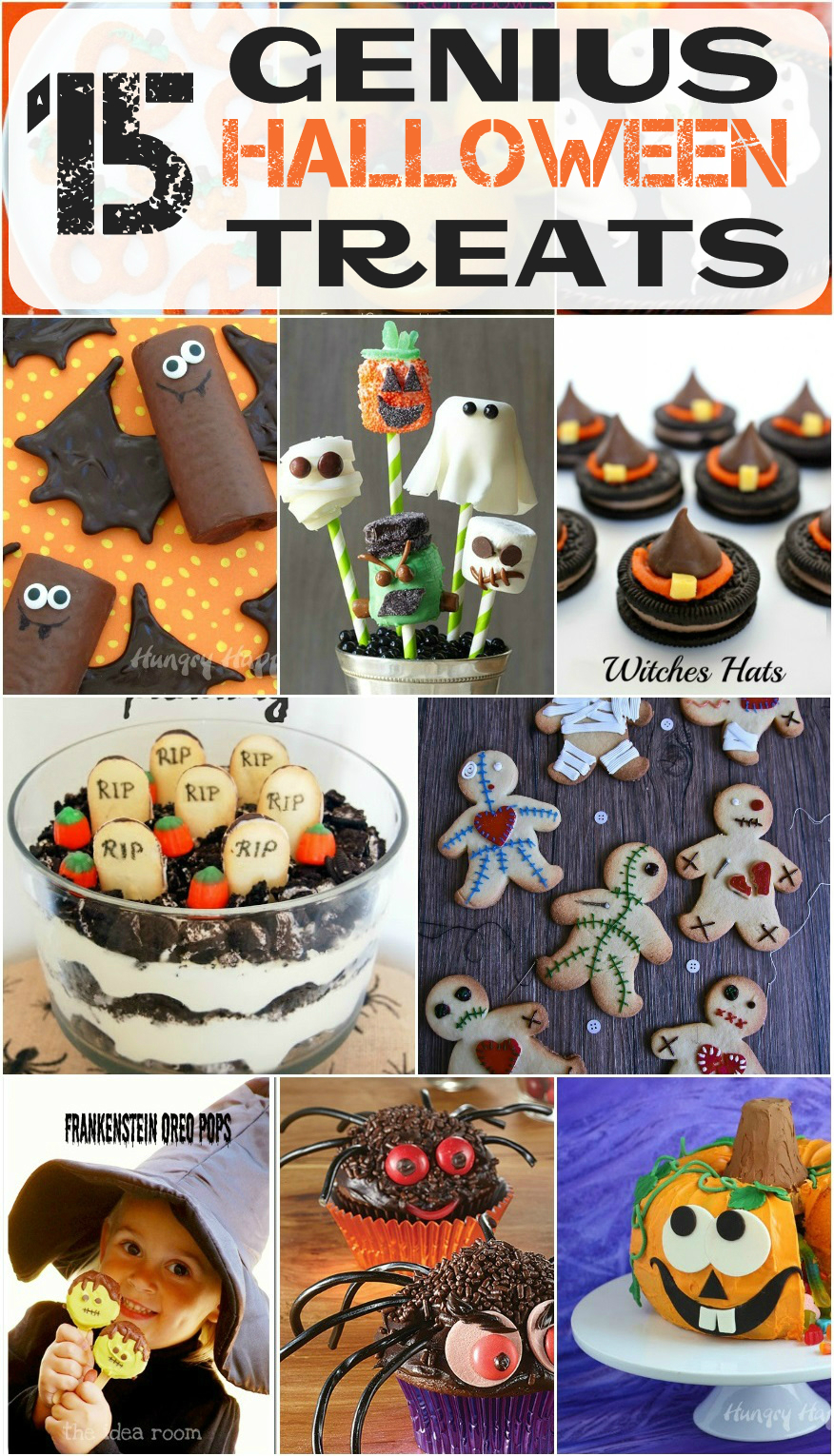15 genius halloween treats to make with your kids roxy 39 s for Halloween treats to make with kids