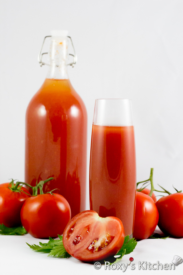 v8 tomato juice recipes