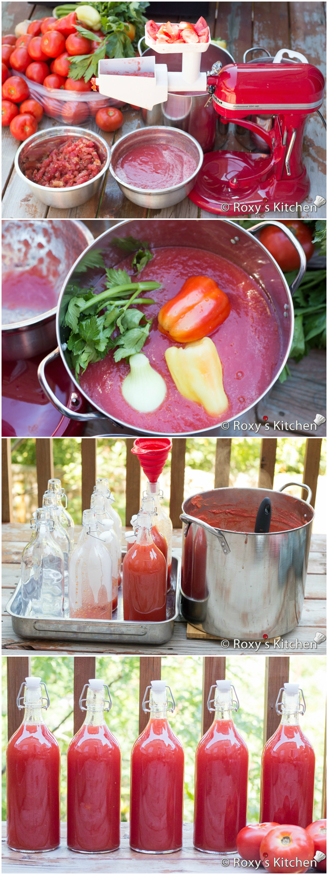 Tomato juice for the winter - recipes for very tasty tomato juice at home 30