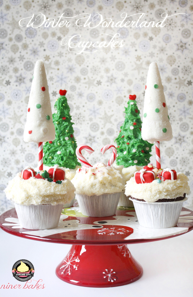 Winter Wonderland Cupcakes